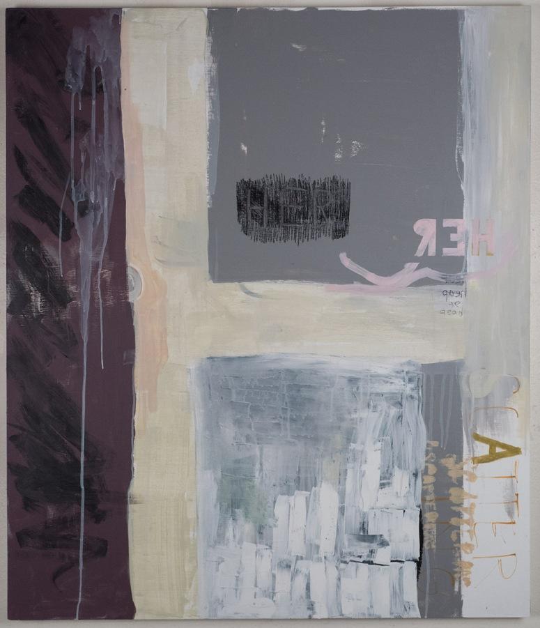 "Untitled, 2017, Michelle Hinojosa, 36""x42"""